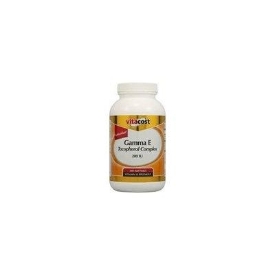 Vitacost Brand Vitacost Natural Gamma E Tocopherol Complex -- 200 IU - 300 Softgels