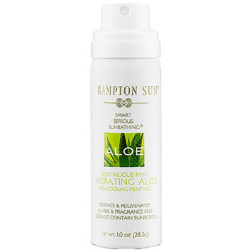Hampton Sun Continuous Mist Hydrating Aloe  1 oz