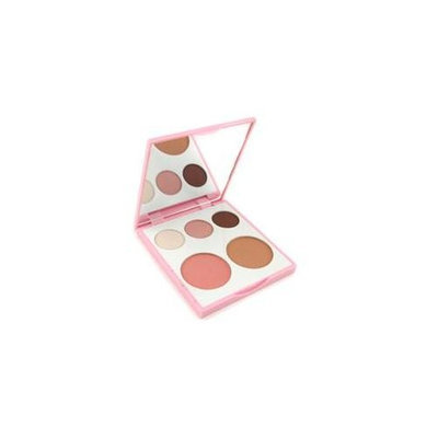Fresh Island Reverie Face Palette: 3X Eye Shadow + 1X Blush Powder + 1X Bronzing Face Luster Unboxed - 11G/0.4ozShow More +