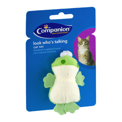 Companion Look Who's Talking Cat Toy