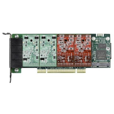 Digium 1A4A01F 4 Port Modular Analog PCI 3.3/5.0V Card, No Interfaces