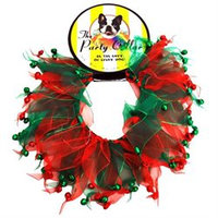 Charming Pet Products - CH77086XS - Holiday Party Collar - XS - Jingle Bells