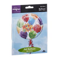 Anagram Foil Balloon 18