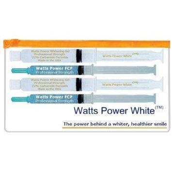 Direct 2u Wholesale LLC Watts Power White 22% Teeth Whitening Sets- 2 Complete Sets