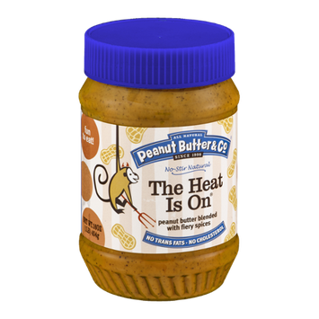All Natural Peanut Butter & Co. The Heat Is On