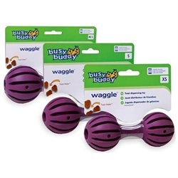 Premier Pet Products - Busy Buddy Waggle- Purple Small - BB WAG S