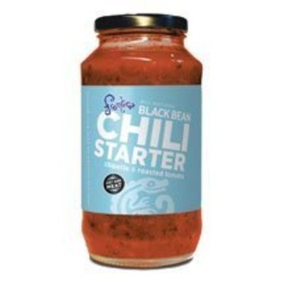 Salpica Black Bean Chili Starter 24 Ounces (Case of 6)