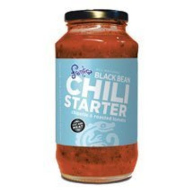 Salpica Black Bean Chili Starter 24 Ounces (Case of 6)