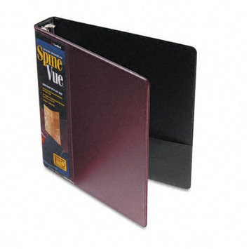Cardinal Brands, Inc Spinevue Round Ring View Binder, 1.5