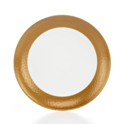 Mikasa Hammersmith Gold Appetizer Plate