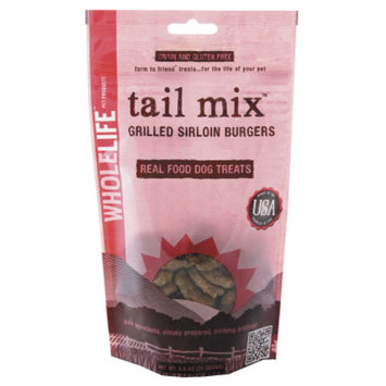 Whole Life Tail Mix Grilled Sirloin Burger Dog Treats - 2.5oz