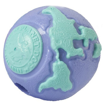 Planet Dog Orbee Ball Dog Toy Color: Purple / Teal, Size: Big Pup