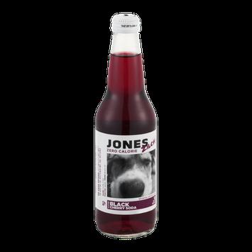 Jones Zilch Zero Calorie Black Cherry Soda