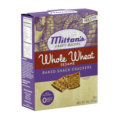 Milton's Whole Wheat Sesame Crackers