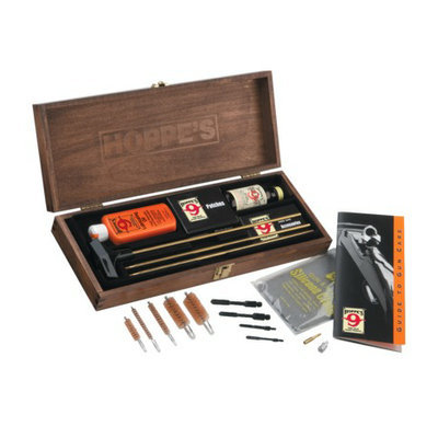 MAURICE SPORTING GOODS Hoppes Deluxe Wooden Gun Cleaning Kit