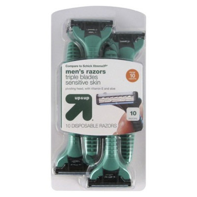 up & up 10 ct Disposable Razors