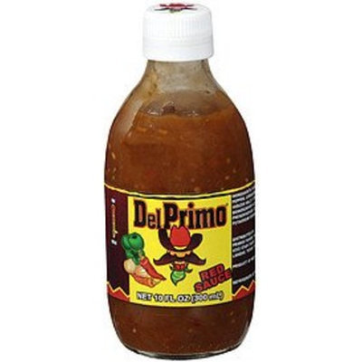 Del Primo Salsa Sauce 10.5oz Bottle (Pack of 3) Choose Flavor Below (Salsa Roja - Red Sauce)