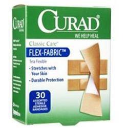 Curad Flex Fabric Assorted Bandage CUR47314 by Medline