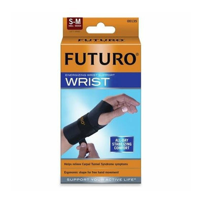 3M 48401EN Energizing Wrist Support S/M Left Hand Black