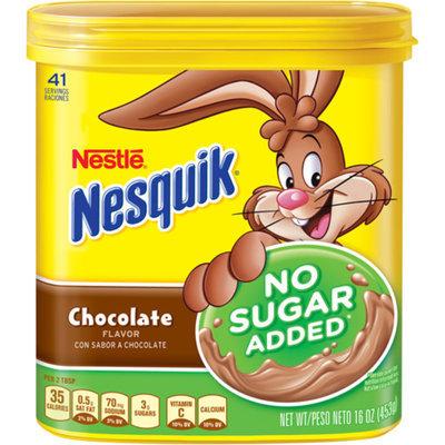 Nesquik Chocolate Mix No Sugar Added 16oz