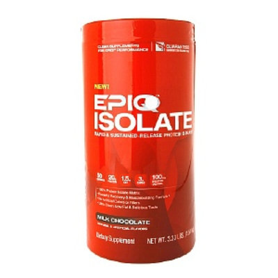 Muscletech EPIQ - Isolate Rapid & Sustained-Released Protein Isolate Chocolate - 3 lbs.