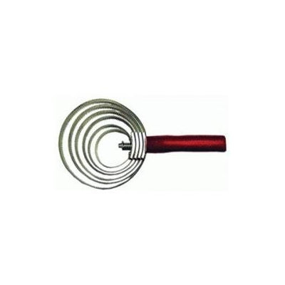 Imported Horse & supply Spiral Curry Comb Jumbo - 149344