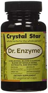 Crystal Star Dr. Enzyme - 90 - Capsule [Health and Beauty]