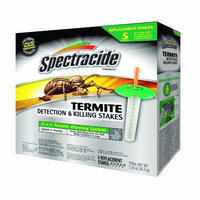 Spectracide 95853 Terminate Termite Detection Killing Stakes, 5 Count (Discontinued by Manufacturer)