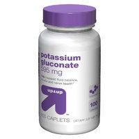 up & up up&up Potassium Gluconate 595 mg Caplets - 100 Count