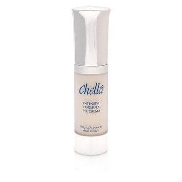 Chella Intensive Formula Eye Crema Cream with bio-enzymatic, tri-amino & hyalo hydrations complexes for Puffy Eyes & Dark Circles, 0.5 oz PARABEN FREE