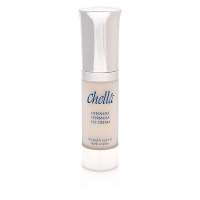 Chella Intensive Formula Eye Crema Cream with bio-enzymatic, tri-amino & hyalo hydrations complexes for Puffy Eyes & Dark Circles, 0.5 oz PARABEN FREE