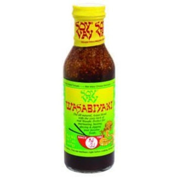 Soy Vay Wasabiyaki Marinade, 15.7-Ounce Bottles (Pack of 6)