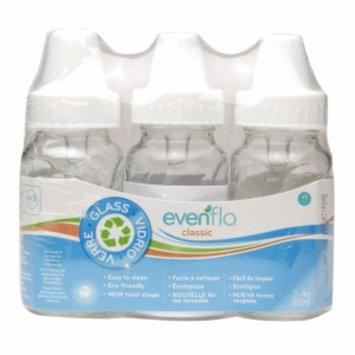 Evenflo Classic Twist Glass Bottles, 4 oz, 3 ea