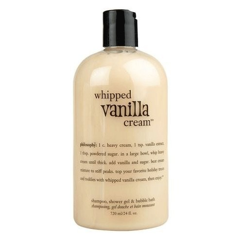 Philosophy Whipped Vanilla Cream 3-in-1 Shower Gel, Shampoo & Bubble Bath - 24 oz [Whipped Vanilla Cream]