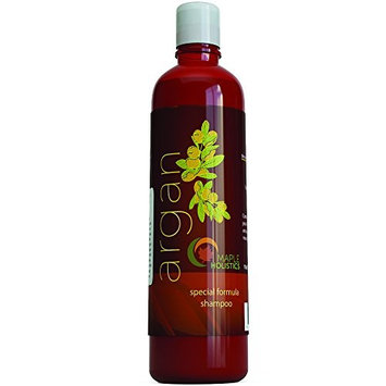 Maple Holistics Argan Oil Shampoo, Sulfate Free, 8 oz. - With Argan, Jojoba, Avocado, Almond, Peach Kernel, Camellia Seed, and Keratin - 100% Safe for Color Treated Hair - For Men, Women, and Teens - All Hair Types - Most Beneficial Haircare Product Available [Argan Shampoo]