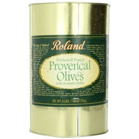 Roland Provencal Olives with Aromatic Herbs, 6.1-Pounds Can