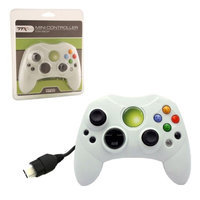 TTX Tech 6 Feet Wired Controller For Microsoft Xbox System Clear Blue
