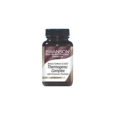 Swanson Best Weight Control Formulas Caffeine & Egcg Thermogenic Complex 120 Caps