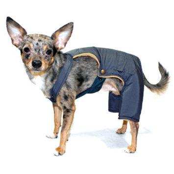 Hip Doggie Navy Urban Ski Pants, L