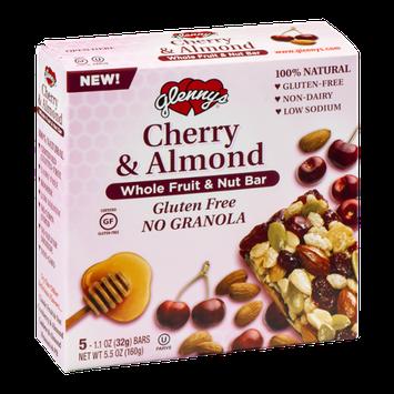 Glenny's Whole Fruit & Nut Bars Cherry & Almond - 5 CT