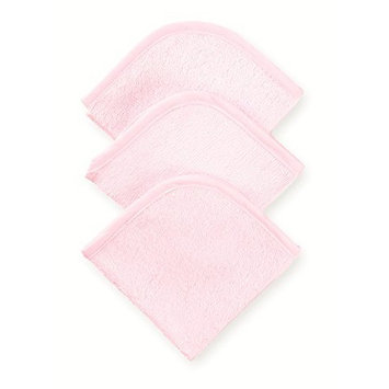 American Baby Company 3-Pack 100% Cotton Terry Washcloth Set, Pink (Discontinued by Manufacturer)