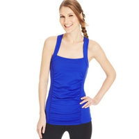 active Soybu Ruched-Panel Stretch Alecia Tank