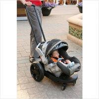 Go Go Babyz Go-Go Babyz Infant Cruizer All Terrain for Graco Infant Seats, Black (Discontinued by Manufacturer)