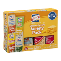 Lance Cheese Lovers Variety Pack - 8 CT