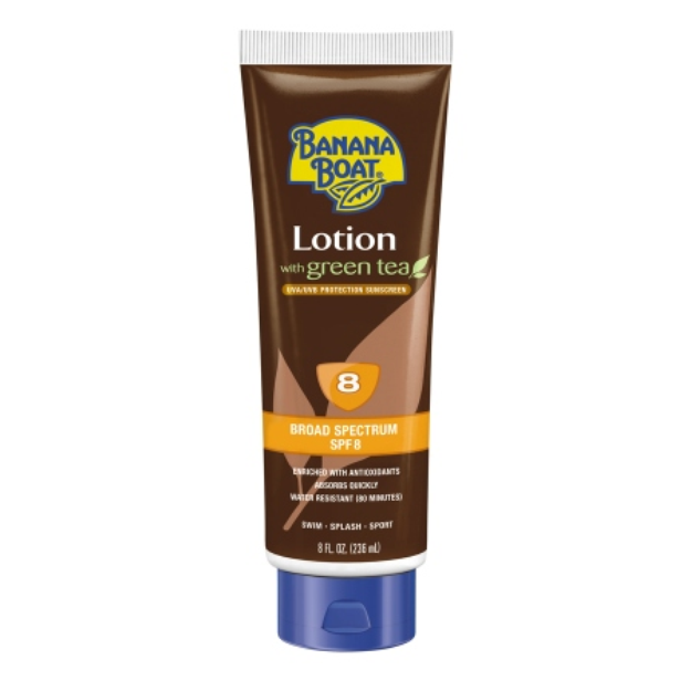 Banana Boat Deep Tanning Sunscreen Lotion with Green Tea
