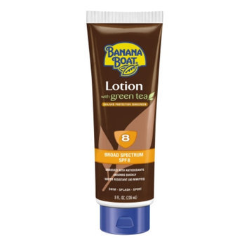 Banana Boat Deep Tanning Sunscreen Lotion With Green Tea With SPF 8