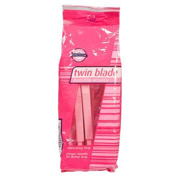 American Fare Twin Blade Plus For Women Razors, Disposable, 5 razors