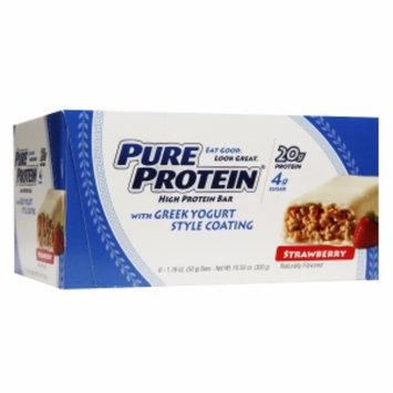 Pure Protein Greek Yogurt, Strawberry, 6 ea