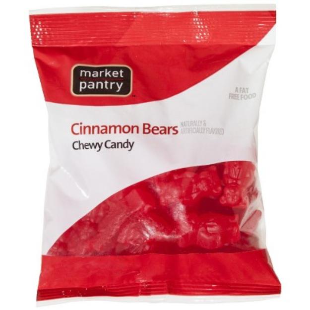 market pantry Market Pantry Cinnamon Bears Chewy Candy 6 oz