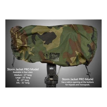 Vortex Media Pro Storm Jacket Cover for an SLR Camera with a Medium Lens Measuring 7